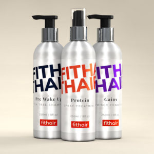 Gym Hair Products - Shampoo, Conditioner and Protein Spray - Fithair Global