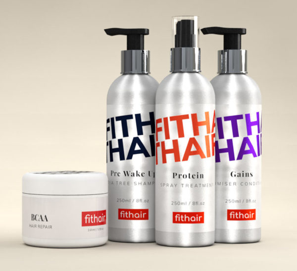 Gym Hair Products - Shampoo, Conditioner, Protein Spray and Hair Repair - Fithair Global