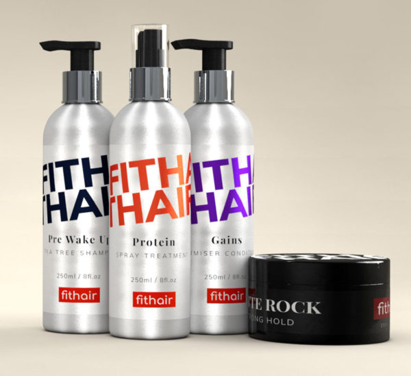 Gym Hair Products - Shampoo, Conditioner, Protein Spray and Wax - Fithair Global