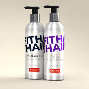 Gym Hair Shampoo and Conditioner - Fithair Global